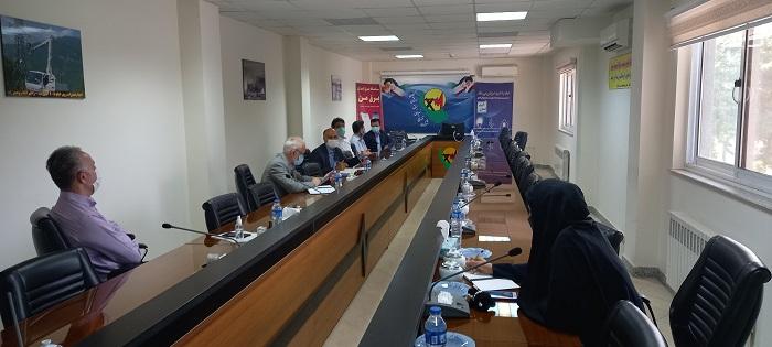سومین جلسه شورای فرهنگی و اقامه نماز در ستاد شرکت توزیع برق برگزار شد