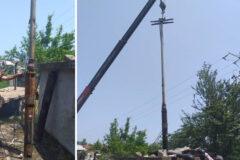 افزایش ظرفیت آبرسانی ایستگاه پمپاژ روستای کیاگهان شهرستان لنگرود