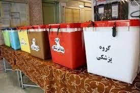 انتخاب پزشکان مدیریت درمان تامین اجتماعی گیلان در انتخابات هیات مدیره نظام پزشکی استان