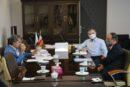 برگزاری جلسه کارگروه تغییر کاربری املاک آموزش و پرورش در تاریخ ١۴٠٠/٠۵/٠۴