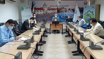 نشست هم اندیشی با مدیران شبکه های بهداشت و درمان استان